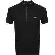 BOSS Athleisure Paule Polo T Shirt Black